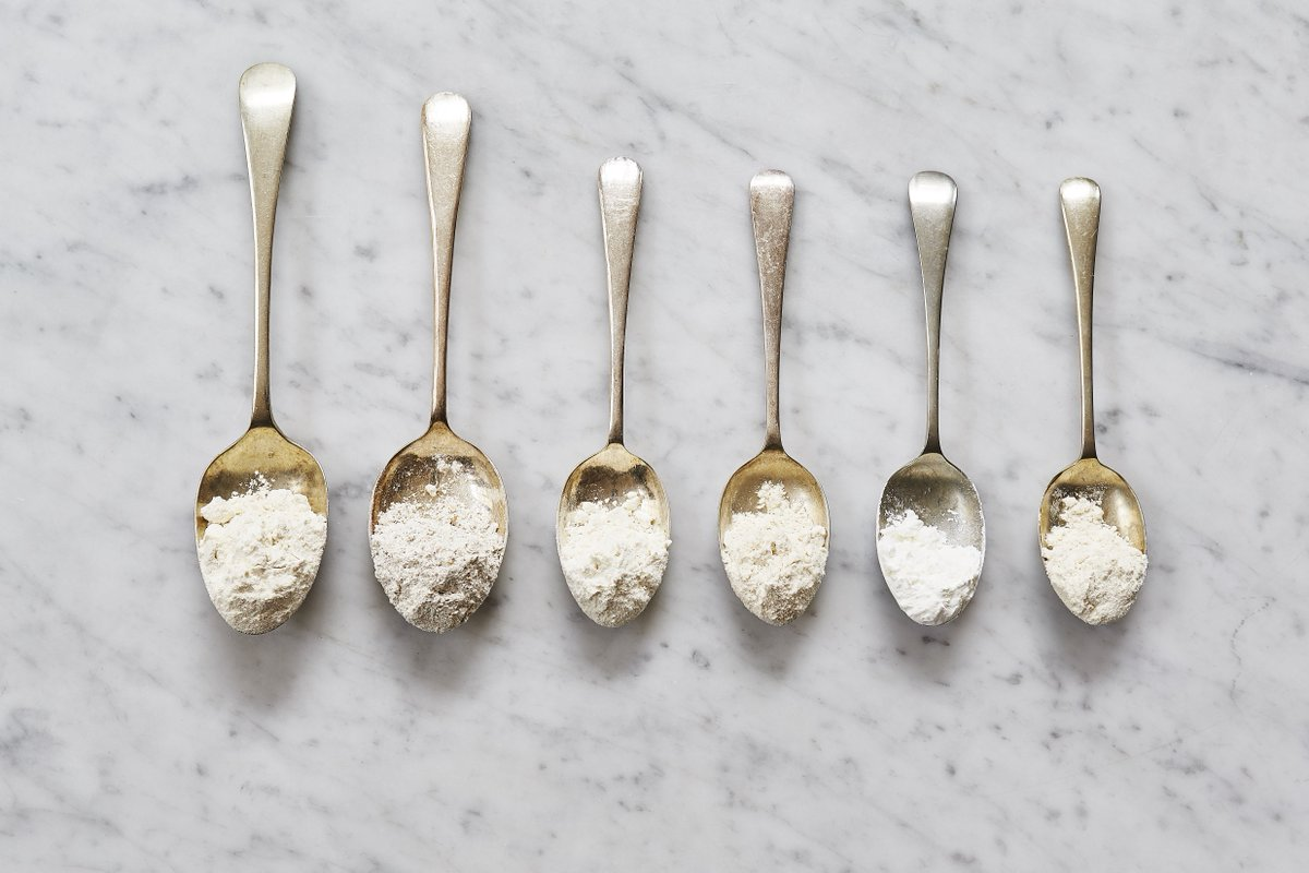 6 flours and how to use them, ready for your weekend #baking! ???????????? https://t.co/9zJpCNHq0l https://t.co/x5a6Thgwti
