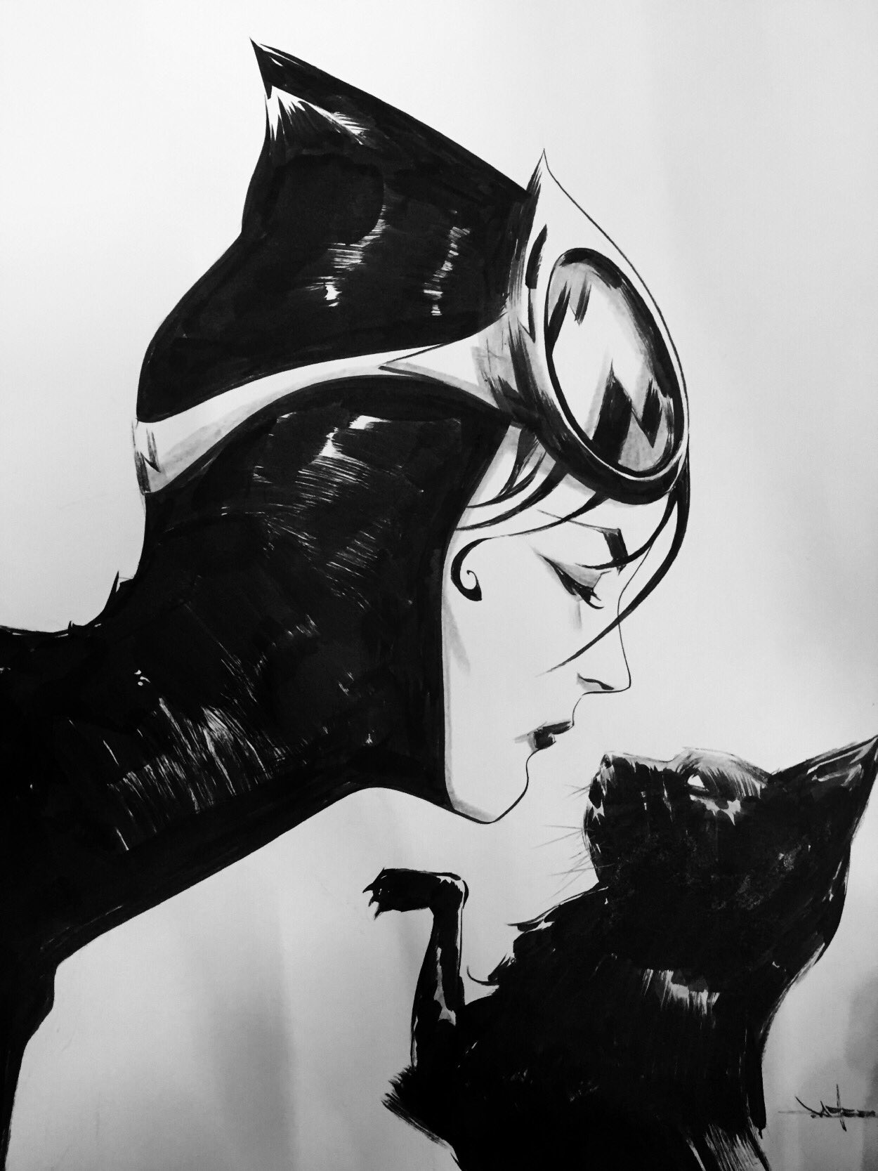 Catwoman by Jae Lee https://t.co/CW8cynrX0R