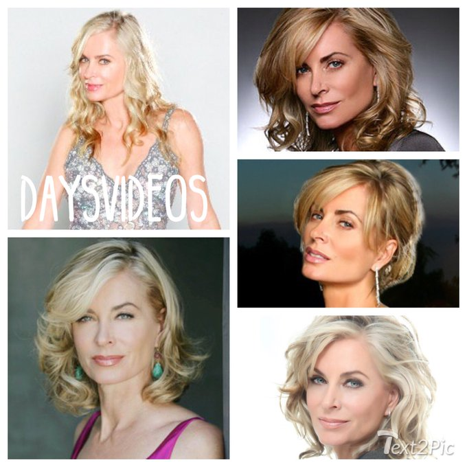 Happy Birthday to Eileen Davidson (Kristen) who turns 58 today!