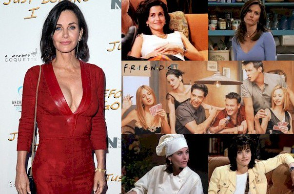 Hoy cumple 53 años Courteney Cox (Monica Geller en Happy Birthday