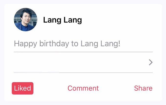 Happy bday Lang Lang!