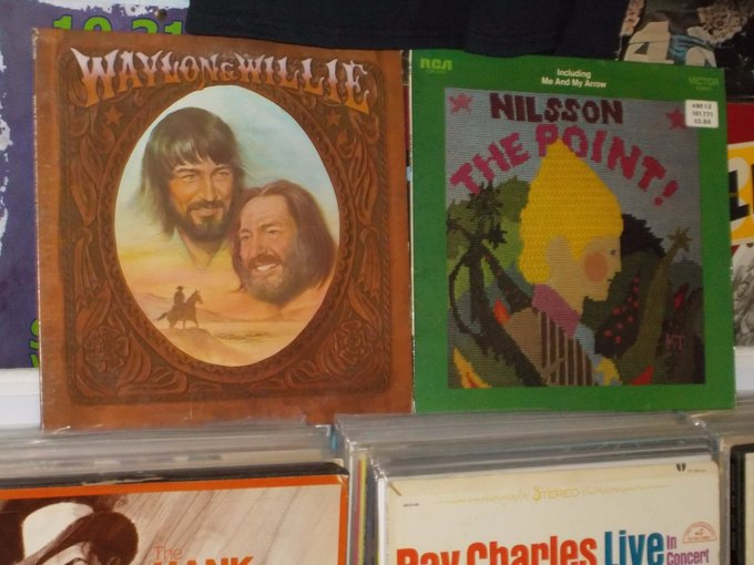Happy Birthday to the late Waylon Jennings & the late Harry Nilsson