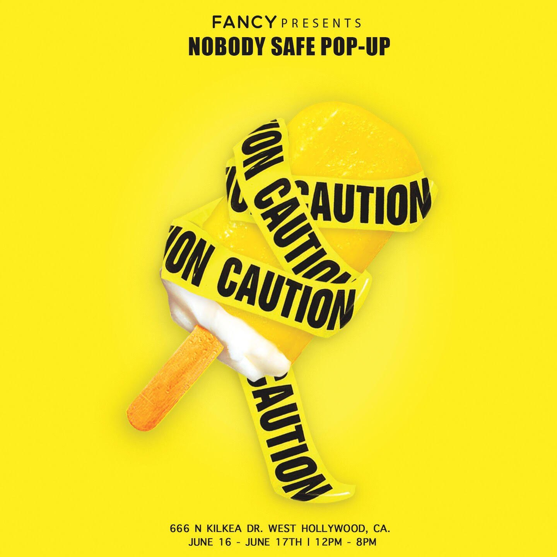 #NobodySafeTour LA Pop-Up begins tomorrow https://t.co/7583O6RBJR