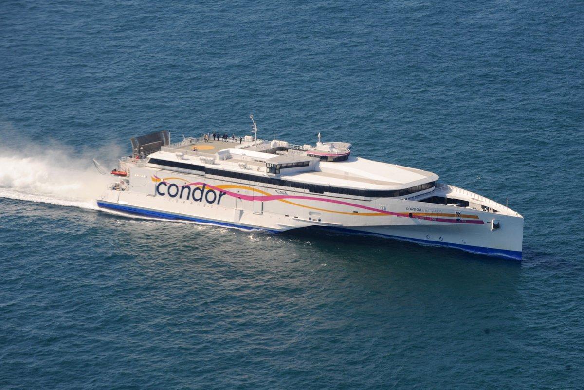 Condor Liberation sailings cancelled tomorrow « Guernsey Press