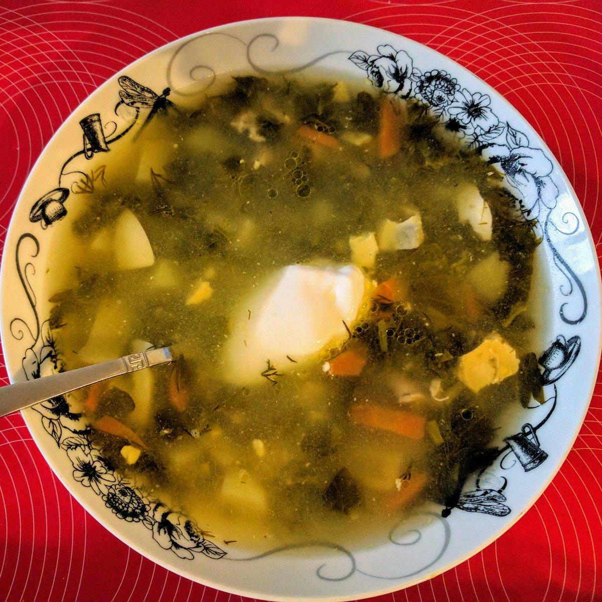 Щавелевый суп с яйцом классический рецепт с фото пошагово 43