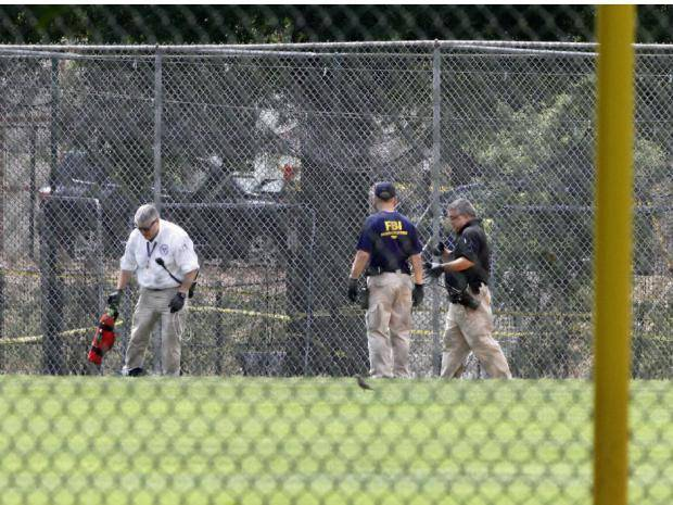 Scalise 'in some trouble,' Trump says, after visiting congressman shot at baseball practice