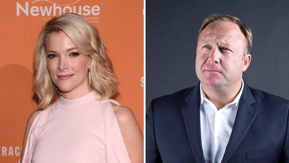 Alex Jones releases Megyn Kelly audio online ahead of NBC broadcast