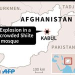 Suicide bomber hits crowded Kabul Shiite mosque: officials