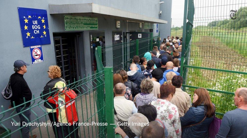 Europe Dismantles Ukraine's 'Paper Curtain'