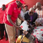 President Kenyatta issues titles for squatters in Nyeri