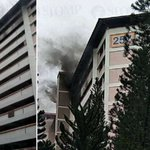 40 people evacuated after fire breaks out in Jurong East HDB block; elderly woman injured