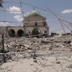 Anger in Mosul as Islamic state destroys historic mosque