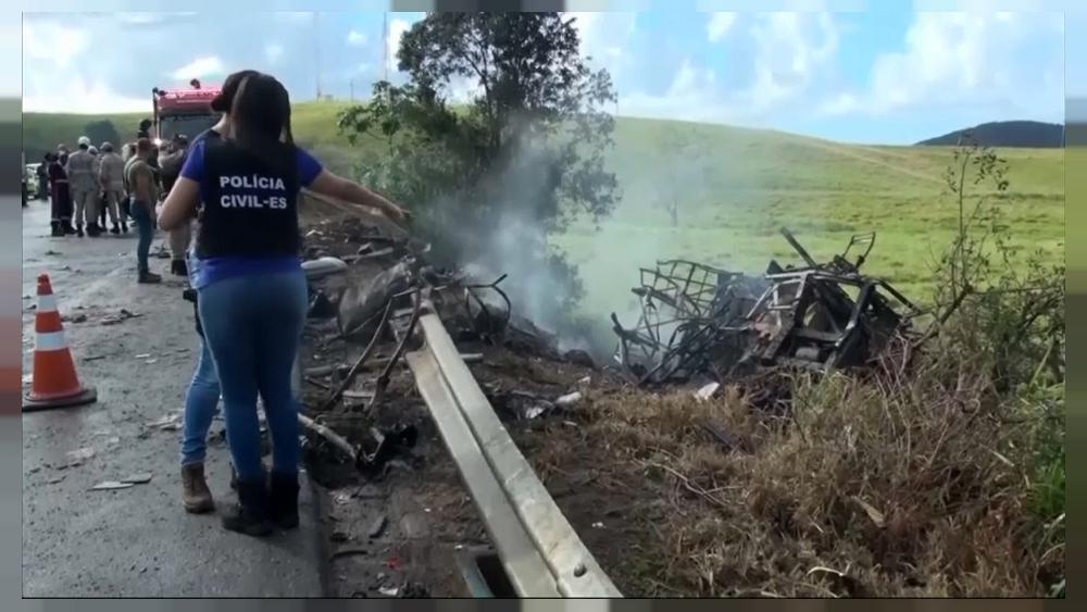 Several killed in Brazil bus crash