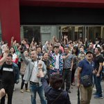 Beijing shopkeepers protest evictions