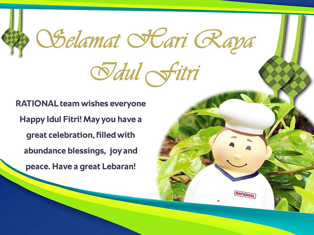 Warmest Greetings From Selamat Hari Raya Idul Fitri To All Our
