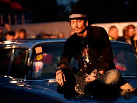 Johnny Depp talks about assasinating the president