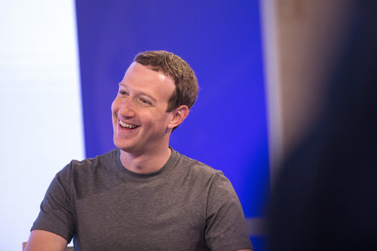 Facebook CEO talks of family, puppy and new corporate mission
