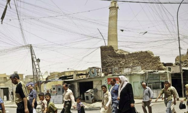 Islamic State destroys iconic mosque in Mosul