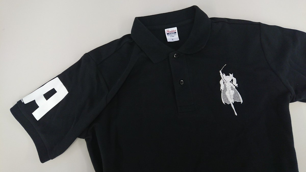 \ガルパン最新情報/ノリと勢いで遂に登場!ドゥーチェの本格的刺繍がとっても素敵な「BIGアンチョビポロシャツ」。この夏一