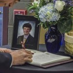 'Let's bring it in': Otto Warmbier's family and friends celebrate his life at memorial