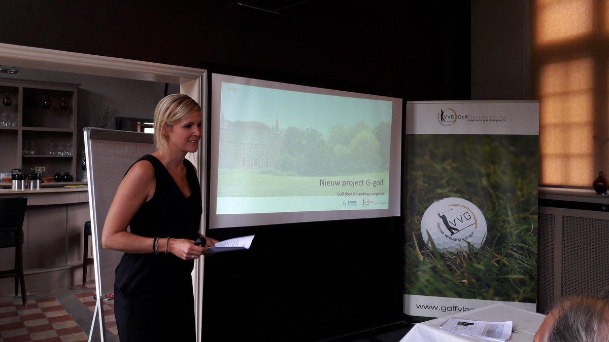 Vandaag lanceren wij ons nieuw project G-golf, mede dankzij de steun van <strong>@SportVlaanderen</strong> #sportersbelevenmeer https://t.co/TlSKIYt31j