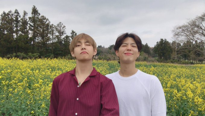 Happy BirthDay , bestfriend of our prince Kim Taehyung