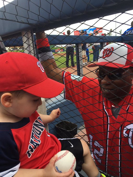 Happy birthday to manager Dusty Baker, seriously might be the coolest and nicest baseball guy ever
