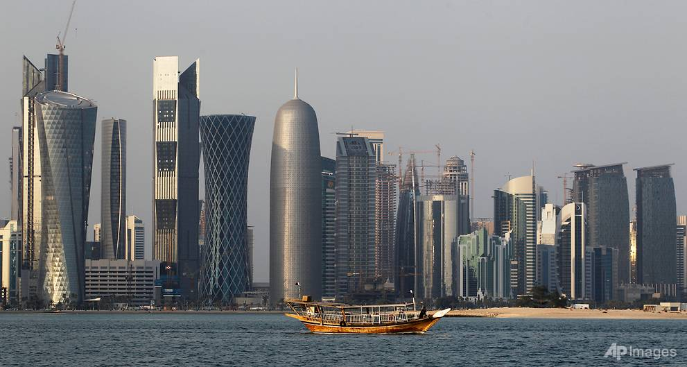 British PM May urges Qatar, Saudi and Bahrain to ease tensions
