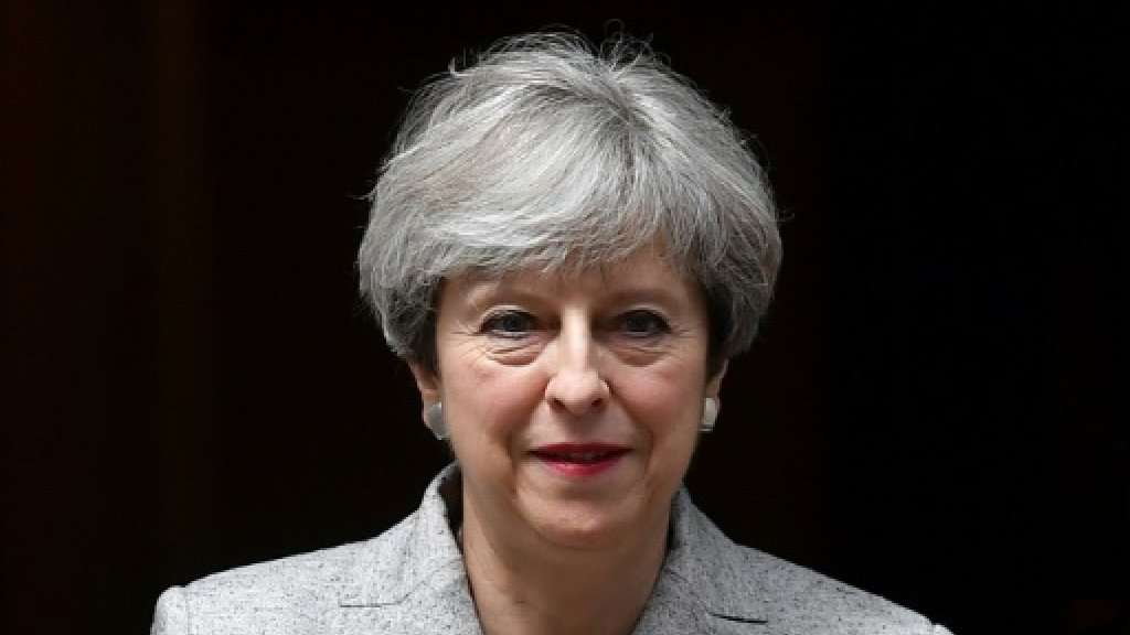 Britain says Brexit talks to start Monday