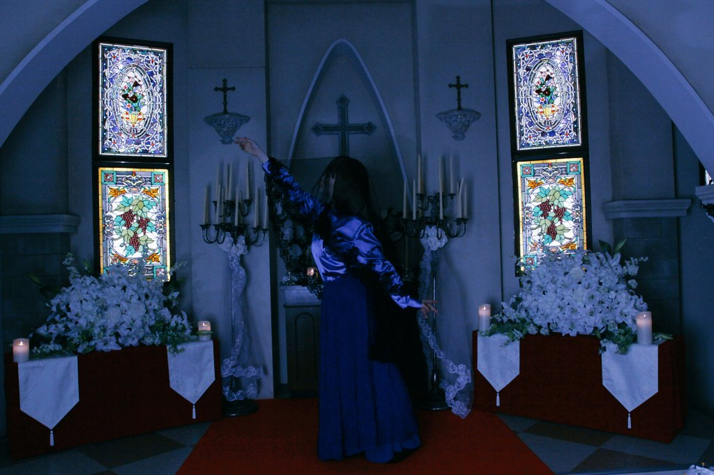 【Dance with Devils/コスプレ】ミュージカル Dance with Devils 立華リツカ 表現役 青