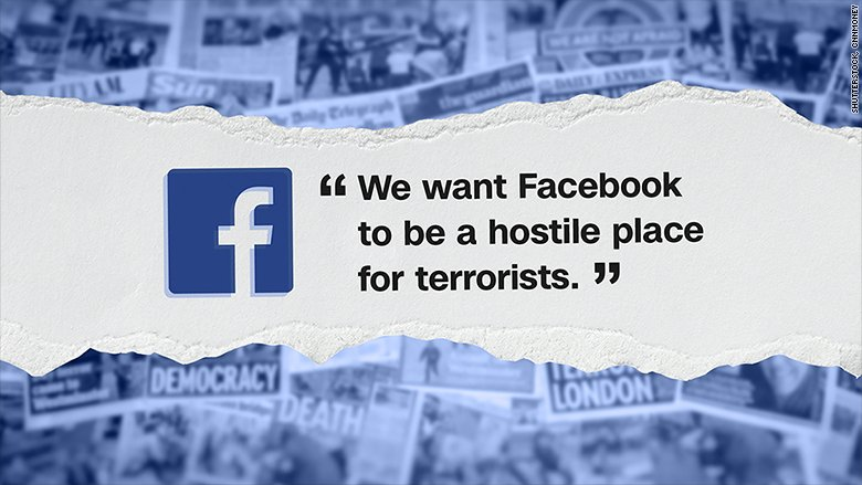 Facebook has more than 150 staffers focused on fighting terrorism