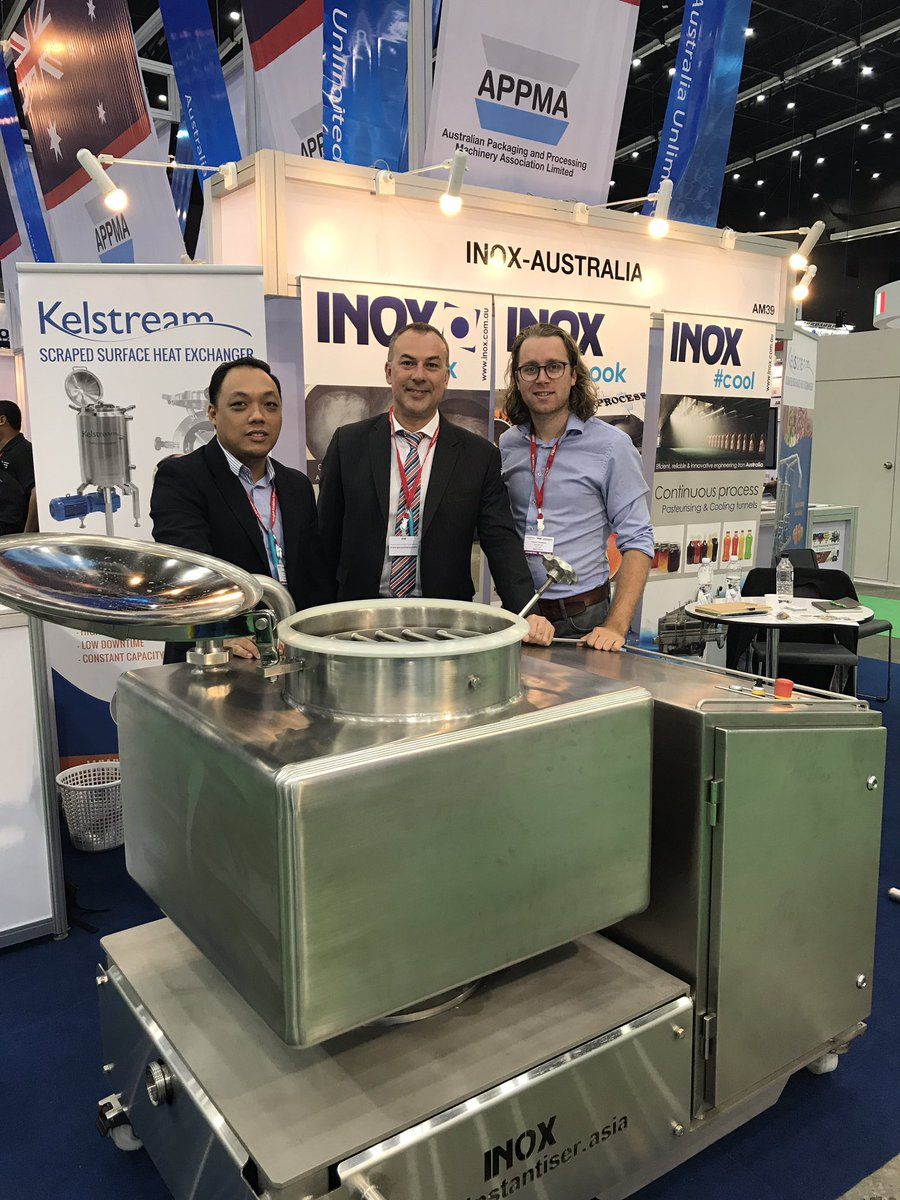 test Twitter Media - RT @neridajean: Come & see the Inox Instantiser and the Kelstream in the Australian Pavilion in Hall 99 @OES_ProPak https://t.co/2EjfUKkEhl