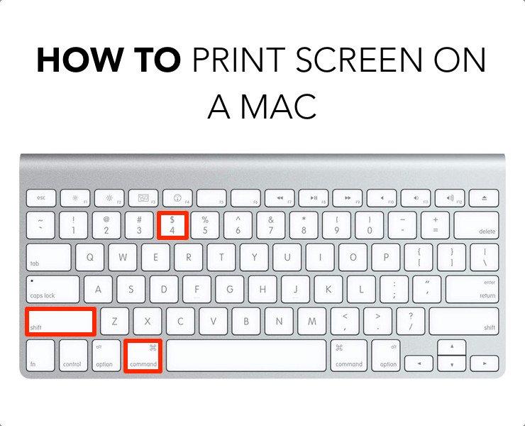 Как сделать скриншот для мака