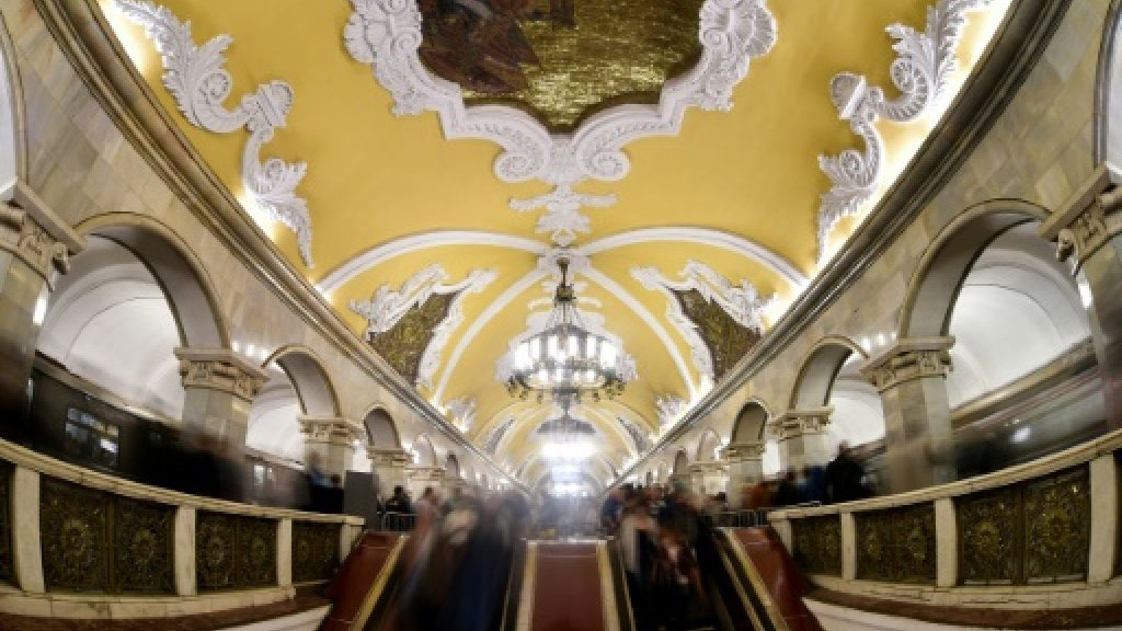 Adieu 'grandmothers', Moscow metro modernises ahead of World Cup