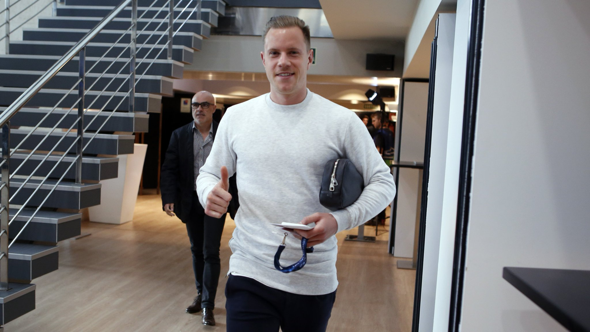 �� Quick-fire Q&A with @mterstegen1 https://t.co/Wlq7RUjw7V