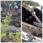 Pain and horror as school girls die in nasty road accident