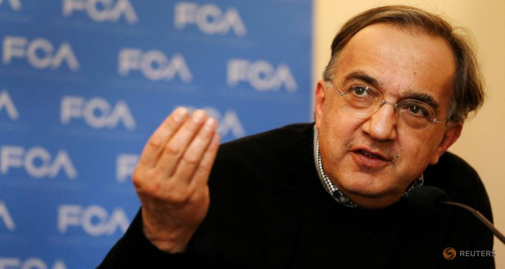 Fiat Chrysler CEO says 2018 targets unaffected by diesel woes