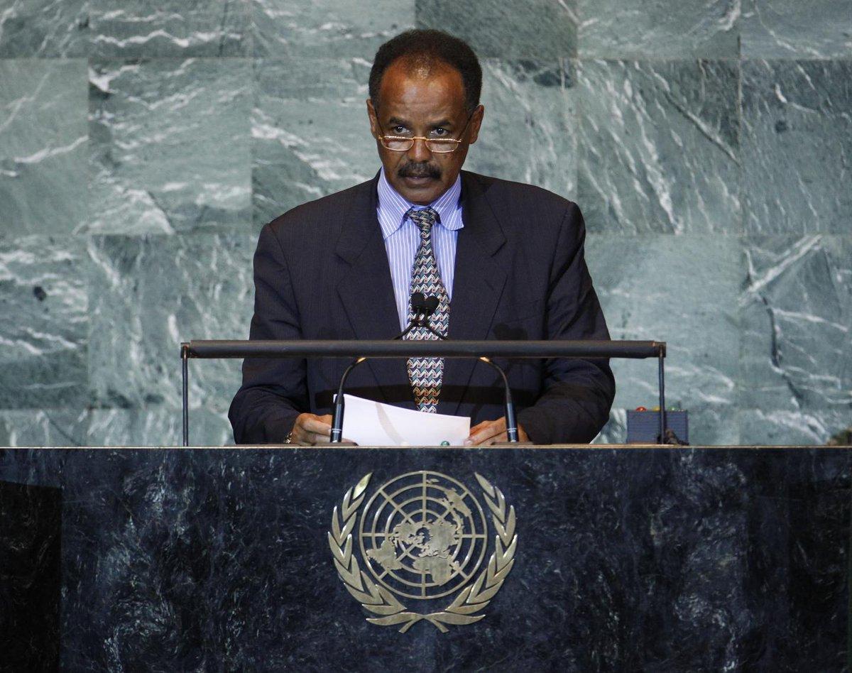 Eritrea, Africa's North Korea, blames U.S. for conflict with Ethiopia