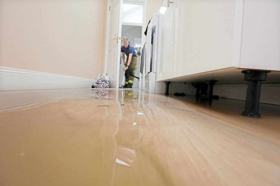 Two homes flooded by water main burst « Guernsey Press