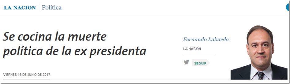 """""""Se cocina la muerte"""". Hoy en La Nación. https://t.co/UIhL9ruern"""