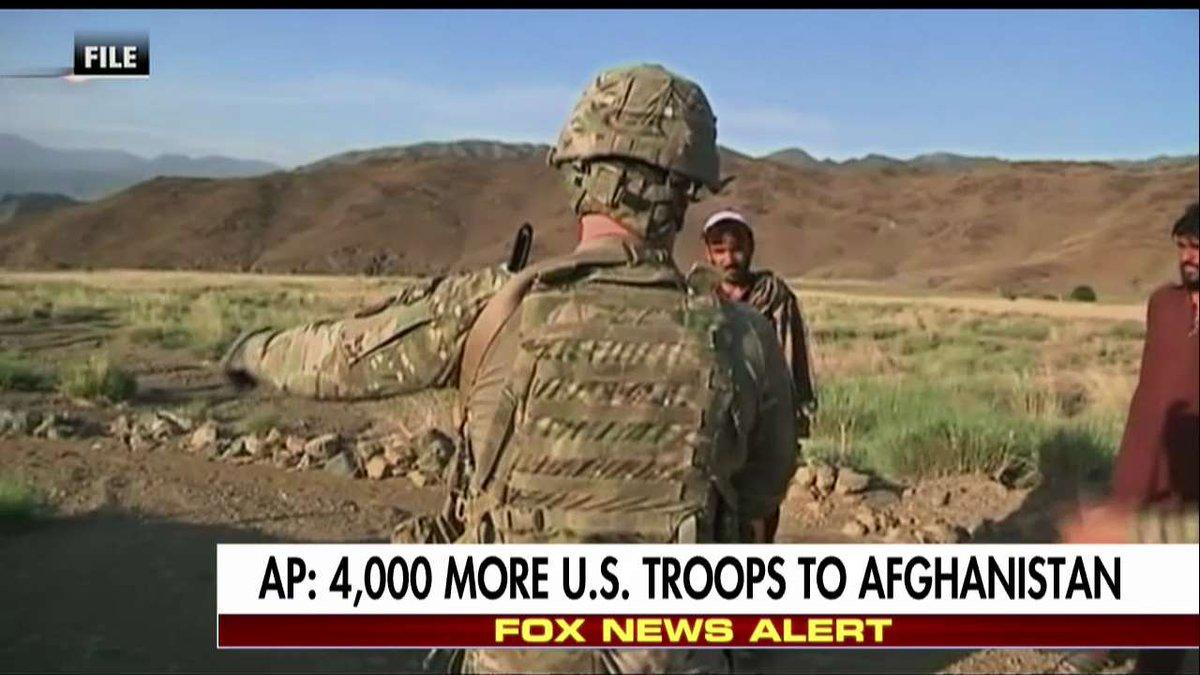 .@AP: 4,000 more U.S. troops to Afghanistan.