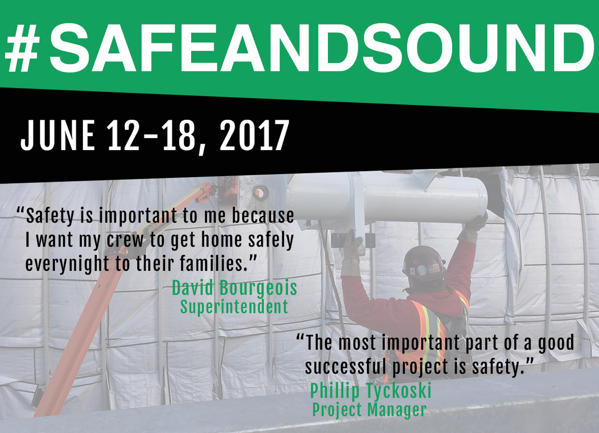test Twitter Media - Safe and Sound Week raises awareness about the value of health and safety in the workplace. #safeandsound #safetycomesincans https://t.co/IRGGV6j9K9