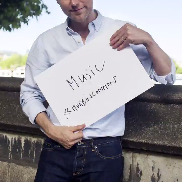 Celebrating great British music together #MoreInCommon https://t.co/dVFQy70Wk1