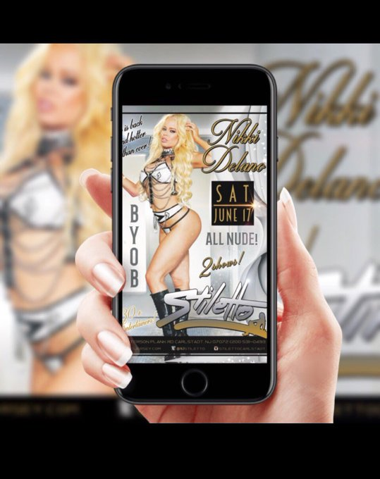 Tom nights festivities at @NJStiletto in NJ 1 night only 2 shows don't miss out https://t.co/ikc5uzS