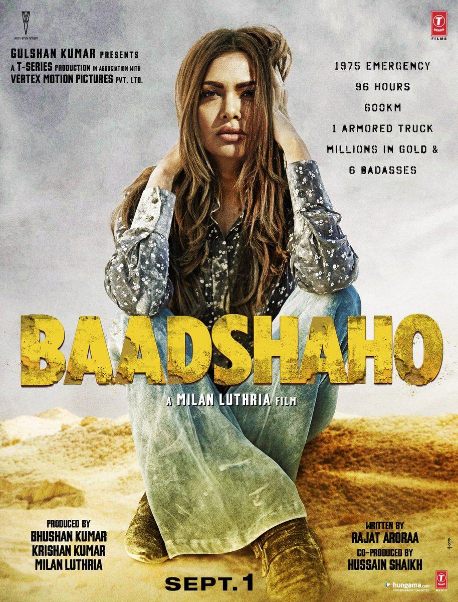 Baadshaho (2017) 1080p - NetFlix - WebHD-Rip - x264 - AC3 - 5.1 - Esub Mafiaking M2Tv