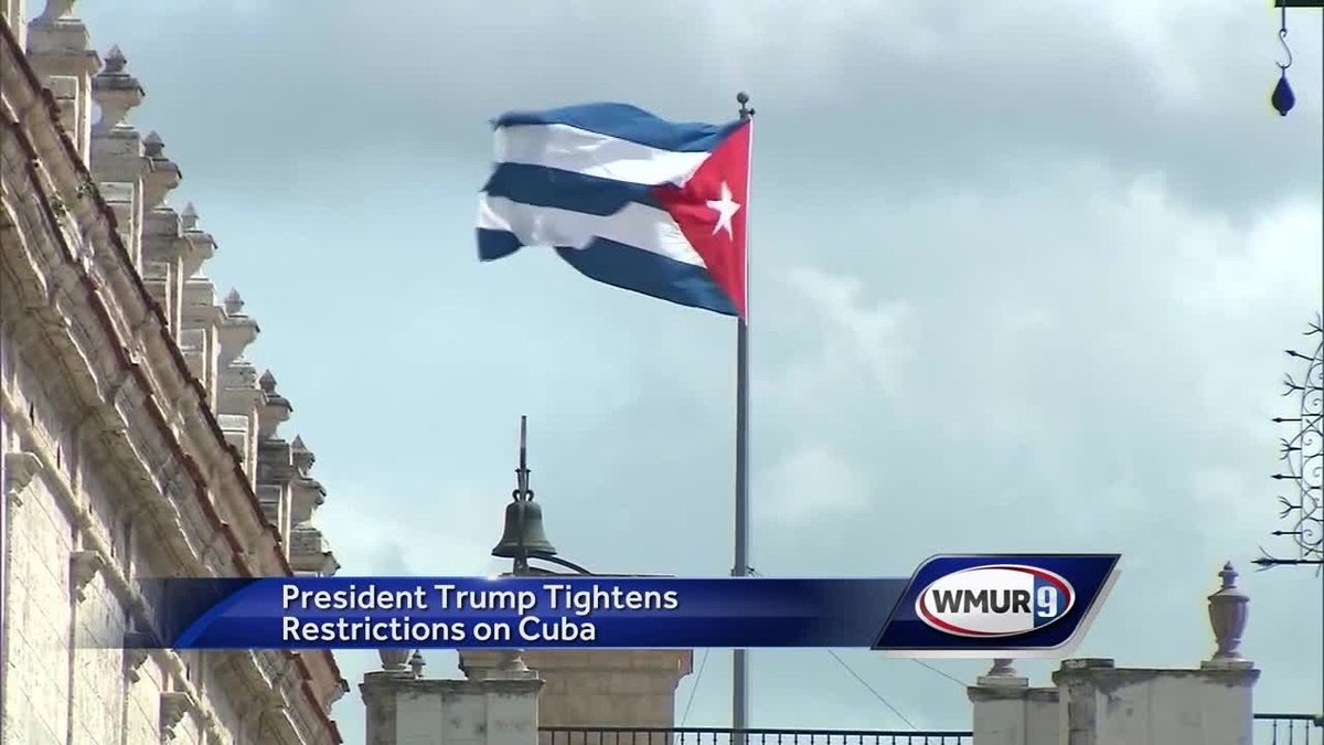 Some restrictions between Cuba and U.S. reinstated