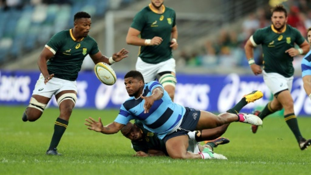 Mvovo seals South Africa A win in historic game
