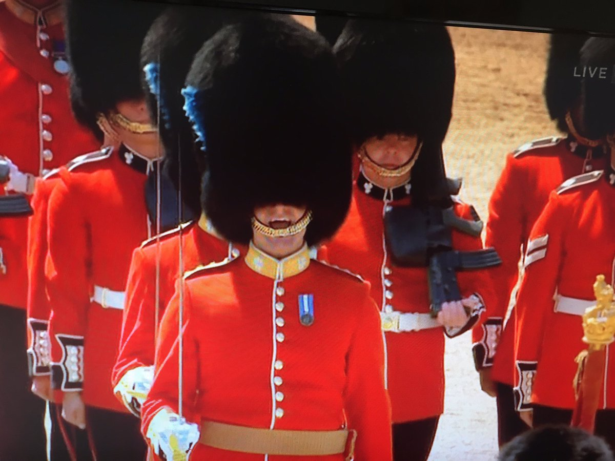 #TroopingtheColour