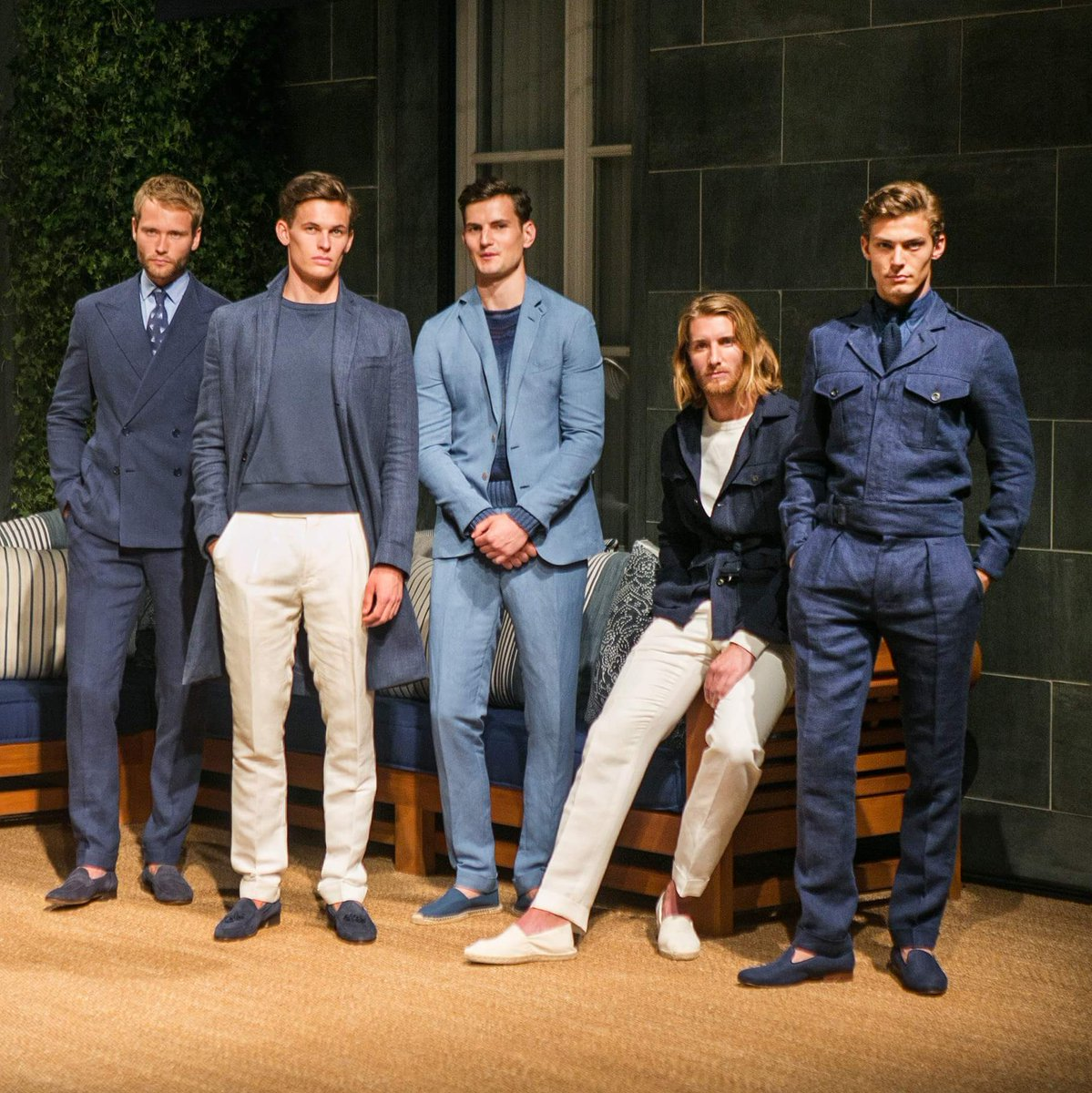 The Ralph Lauren Purple Label Spring 2018 Collection was presented today in Milan. https://t.co/5rp8imzvxQ
