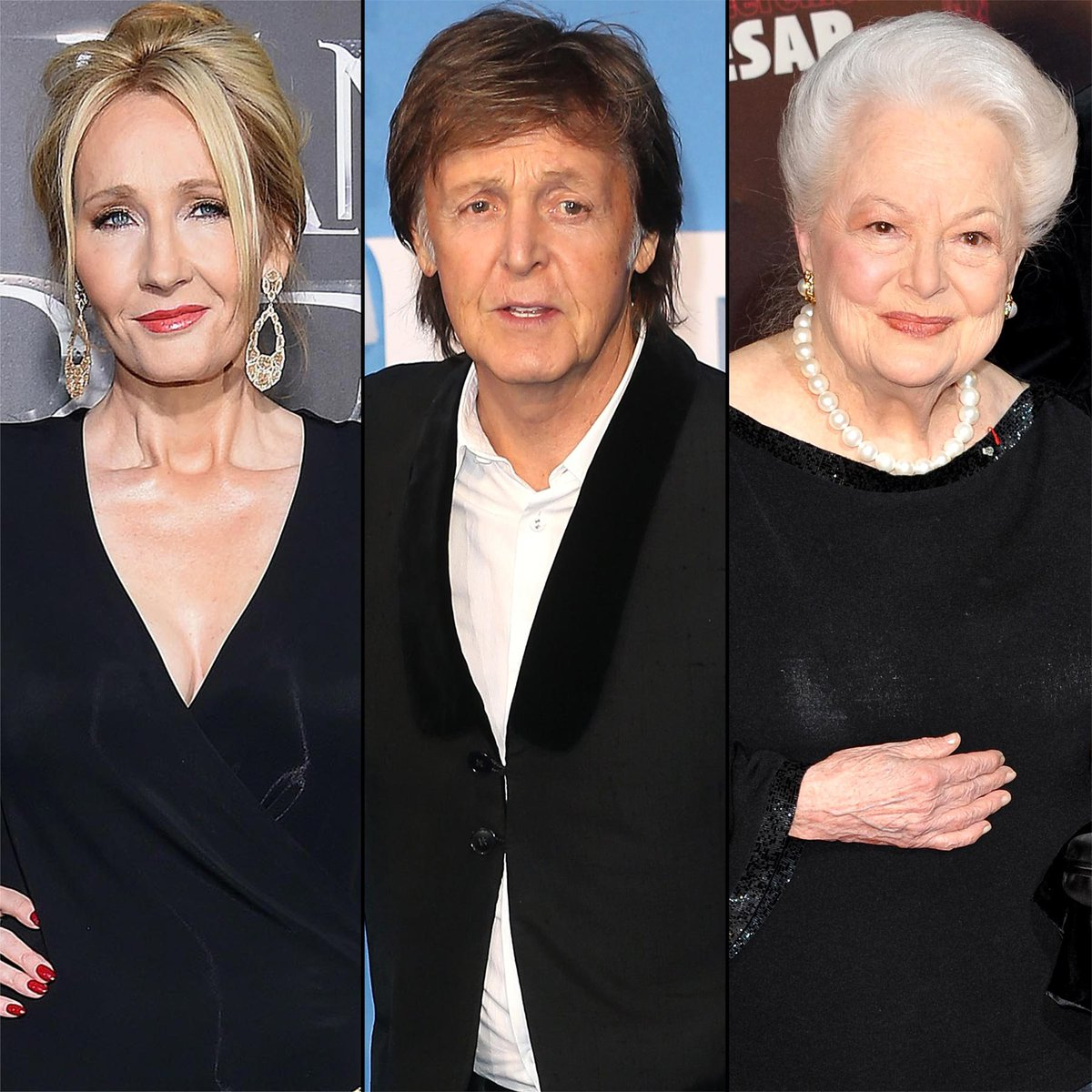 J.K. Rowling, Paul McCartney and Olivia de Havilland receive Queen's Birthday Honors: